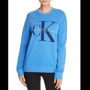 Calvin Klein blue sweatshirt